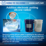 Potting elettronico Compound Shore 45 un Silicone Rubber
