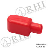 TerminalProtector Boot Black und Red Circuit Breaker Cover
