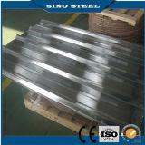 Folhas e material de construção de aço da telhadura do zinco colorido verde