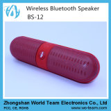 LED 2015 Pill Shape Portable Mini Bluetooth Speaker con la fessura per carta di Memory