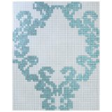 China Mosaic Sicis Design Mosaic Pattern (10K236)