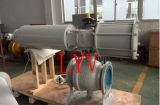 El acero de molde neumático ensanchó vávula de bola