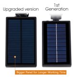 Imperméable à l'eau 4 LED 200 Lumens Solar Garden Wall Lights dans le sol Lights Solar Outdoor Light