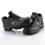 Casquillo de acero de cuero del dedo del pie para los zapatos de seguridad, zapatos de seguridad cómodos L-7252