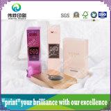 Коробка косметик различной UV бумаги упаковывая бумажная