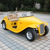 Road Electric Golf Cart (DN-4D)を離れた中国OEM Manufacturers 4 Seats