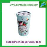 Presente da jóia/chocolate/cosmético/flor que empacota a caixa de papel do cartão feito sob encomenda