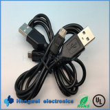 USB 2.0マイクロUSB充満ケーブルへの男性