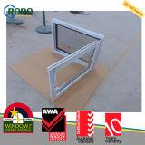 PVC Estilo Europeo Oscilo Ventana con vidrio aislante
