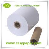 papel termal de corrección de la calidad de la fábrica 65g tres