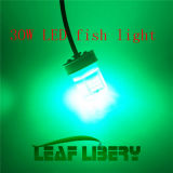 アップグレードされた12V 30W LED Underwater Squid Lure Boat Fish Light Fishing Lamp