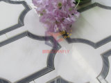 Мраморный Made 10mm Thickness Water Jet Mosaic Design