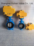 Válvula De Butterly De Vedação Elástica Elétrica (D971X)