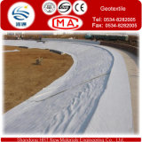 Weißer nichtgewebter Geotextile mit kurzer Faser
