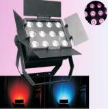 12PCS 15W RGB 3in1 LED-wasserdichtes/im Freien NENNWERT Licht mit Aufflackern