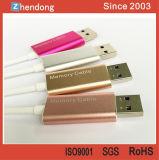 iPhoneのための習慣OTG USBのフラッシュ駆動機構