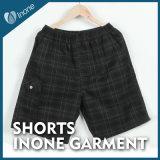 Inone 069 Mens nada Shorts ocasionais da placa das calças curtas