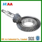 높은 Precision Stainless Steel/Brass Crown 및 Pinion Gear, Custom Bevel Pinion Gear