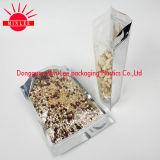 Poche comique avec la ligne de déchirure de rayure de laser/sac en aluminium d'emballage avec le zip-lock pour la nourriture