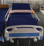 Reizbares manuelles Bett-manuelles Krankenhaus-Dreifunktions-Bett des Krankenhaus-2