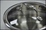 Un Cookware senz'acqua Sc260 stabilito delle 5 pieghe