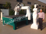 4 ranurador del CNC del eje 3D, fresadora del CNC para la estatua de la escultura