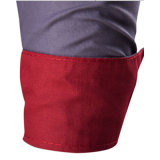 Chemise de robe occasionnelle de chemise de vente de coton chaud de Mens longue (A439)