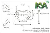 гальванизированные 516g100 материальные кольцо/C-Кольцо борова