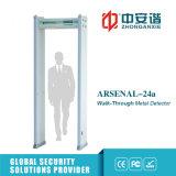 metal detector del Archway di Scaner del corpo dell'ospedale di 6/12/18 zone dell'allarme