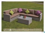 2016 insieme di vimini di qualità e comodo del patio esterno del sofà