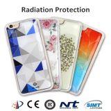 Couverture colorée de téléphone de silicones de protection contre les radiations neuve de l'arrivée 2017