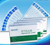 Bande/carte chimiques d'indicateur de stérilisation de vapeur de pression
