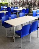 Tabella pranzante di superficie solida della mobilia poco costosa del ristorante