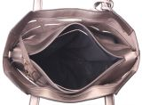 Form der glänzenden Handtasche PU-Frauen