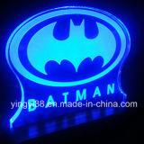 Signature en acrylique gravé sur mesure avec lumière LED