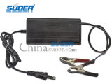 Carregador de bateria do carro de Suoer 5A 12V mini com Ce RoHS (SON-1205B)