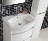 Mirrorの高品質のFloor Standing PVC Waterproof Bathroom Furniture