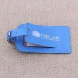 Standardgrößen-Masse-Gepäck-Marken, kundenspezifische Gepäck-Marke, PVC-Gepäck-Marke