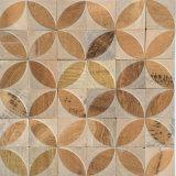 Diseño Especial Anti Slip piedra natural de mármol del azulejo Moasic (FYSL358)