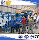 Il solvente della tessile ha basato la macchina di laminazione della colla