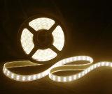 luces de tira flexibles dobles del tubo 600 LED del silicón de la fila 5050 de los 5m IP67 impermeables