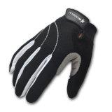 Form-Schaffell-Leder-Motorrad-antreibende Handschuhe (2240033)