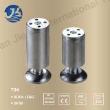 Pés da tabela da ferragem da mobília do aço inoxidável do metal (T04)