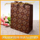 Роскошное Gold Logo Paper Bags с Ribbon Handles