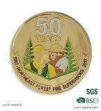 Het aangepaste Brandweerkorps van de Herinnering 50 Jaar van de Speld van de Revers (xd-03010)