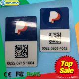 Бирка лобового стекла UHF карточки стоянкы автомобилей чужеземца 9662 RFID EPC1 Gen2