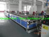 Linha de produção plástica de madeira do perfil do PVC WPC
