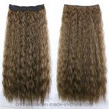 Clip de cheveu bouclé chaud de maïs sur le clip de cheveu de prolonge de cheveu