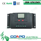 20A, 12V/24V, регулятор LCD солнечный