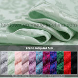 絹の慰める人および衣服ファブリックのための22mmのクレープのジャカード絹